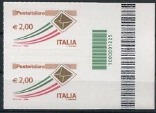 """Italia 2009 """"Posta prioritaria da 2,00"""" con codice a barre Mnh"""