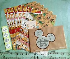 DISNEY LETTER SET! WRITING NOTE PAD PAPER ENVELOPE  Comics Mickey & Minnie