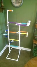 "NEW PVC Parrot Play Gym ""MAX"" FLOOR PERCH Stand FREE SHIPPING *Birds Love Them"