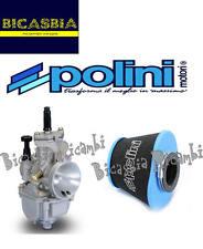 8134 - CARBURATORE POLINI PWK 24 + FILTRO ARIA AIR BOX VESPA 50 SPECIAL R L N
