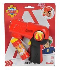 Feuerwehrmann Sam Seifenblasenpistole mit Automatikfunktion Größe 16cm