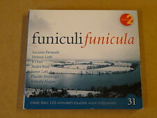 2-CD RADIO 2 / MARC BRILLOUET - FUNICULI FUNICULA - VOLUME 31