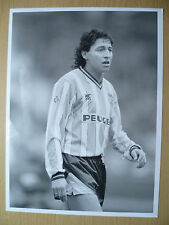 Original Press Photograph 1990- JOSE PERDOMO at COVENTRY CITY FC