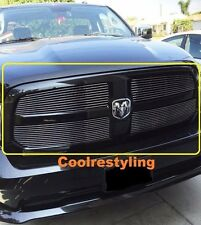 FOR 2013 14 15 Dodge Ram 1500 4pc Polished Billet Grille Grill Inserts