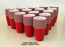KIRKLAND CHINET THE BIG RED CUP 150 PCS PLASTIC 532 ML PARTY BEER SCHOONER PONG