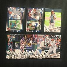 2017 TOPPS #1 DETROIT TIGERS TEAM SET 14 CARDS WITH 3 INSERTS +