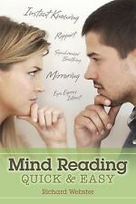 New, Mind Reading Quick & Easy, Webster, Richard, Book