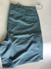 New Authentic Men's Steel Blue Calcutta Board Shorts - Size 42