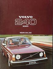 Volvo 244 & 245 Sales Brochure - 1977