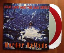 Nick Cave And The Bad Seeds  Murder Ballads 2 x LP New Red and color vinlys