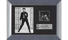 Elvis Presley 1957 movie Jailhouse Rock Genuine 35mm Film Cell Framed & Matted