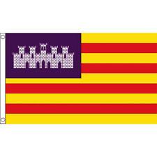 Balearic Islands Flag 5Ft X 3Ft Spain Mallorca Majorca Banner New