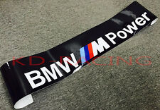 BMW M Power Windshield Sunstrip Decal Sticker M3 M4 M5 M6 Z4 Free Shipping x 1