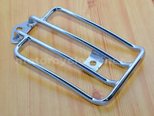 Chrome Solo Seat Luggage Rack For Harley Davidson Sportster XL883 1200 2004-2015