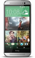 HTC One M8 (Latest Model) - 32GB -4G LTE  Silver/gold/red (Unlocked) Smartphone