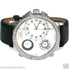 CURTIS & Co Limited Edition Stainless Steel Men 50mm Diamond Watch STORE DISPLAY