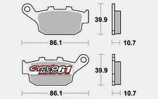 Plaquettes de frein arrière Yamaha XJ6 600 Diversion 2009 à 2013 (S1070)
