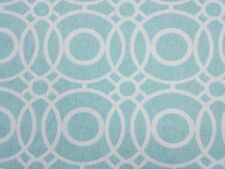 Clarke and Clarke Eclipse Aqua Designer Curtain Upholstery Craft Fabric