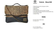 NEW Dakine Valerie Black Corky Snake Womens Purse Shoulder Hand Bag Msrp$40