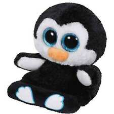 Ty Peek-A-Boos Penni The Penguin Plush ~ Holds Your Phone + Clean Your Screen