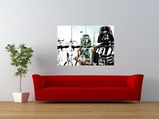 STAR WARS STORM TROOPER BOBA FETT GIANT ART PRINT PANEL POSTER NOR0065