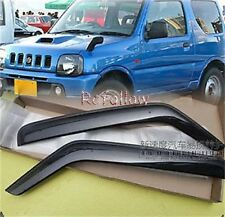 Wind Deflectors Weathershield Visor For CHEVROLET SUZUKI JIMNY JIMMY 3DR 1998-up