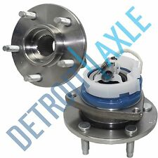Both (2) New Front Driver and Passenger ABS Wheel Hub and Bearing Assembly