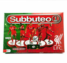 Subbuteo table football liverpool fc édition jeu complet 2 équipes filets ball