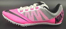 NIKE ZOOM RIVAL S TRACK & FIELD WOMEN SIZE 8 SPIKES PINK BLACK WHITE 615998-602