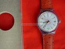 SWATCH AUTOMATIC BRICK-ETT with DATE - 1993 - SAN400 - NUOVISSIMO NEW
