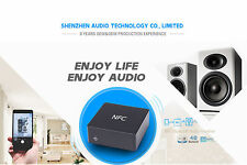 4.0 NFC aptX Bluetooth to Stereo Analog L/R RCA Audio Adapter