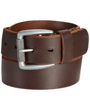 Levis Hand Bar Tack Textured Roller BROWN LEATHER BELT SIZE 38 NWT