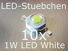 10x 1W High-Power LED Emitter Kaltweiss 350mA