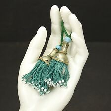 PAIR Tribal Jewelry Clothing TASSELS Belly Dance Kuchi Bellydance 729b7