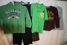 6 Pc Boys Lot sz M 7-8 Hoodie Shirts Pants TCP Phillies More Nice Lot