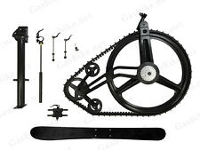 GasBike Snow Bike Conversion Kit - Ski Attachment ,66/80cc Gas Motorized Bicycle