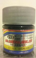 Mr Hobby acrylic paint Mr. Metal color, MC-213 Stainless Steel, 10ml.
