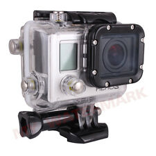 Underwater Waterproof  House Case+LCD BacPac for GoPro Hero3 HD Camcorder Camera