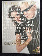 "H&M HM Collaborations With ""The First Ten Years"" Book  with Karl Lagerfeld cover"