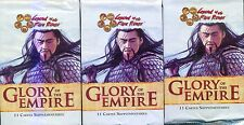 L5R 3 BOOSTERS GLORY OF THE EMPIRE VF