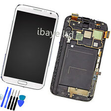Samsung Galaxy Note 2 N7100 LCD & Touch Screen Digitizer Assembly White
