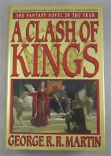 A CLASH OF KINGS GEORGE R R MARTIN 1999 FIRST EDITION LATER PRINTING DJ BANTAM