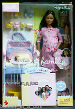 Midge & Baby Pink Outfit Happy Family Barbie Doll African American AA Pregnant ""