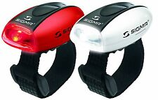 Sigma Micro LED Twin Set Bike Bicycle Front & Rear Lights Quick Fit 2 Modes