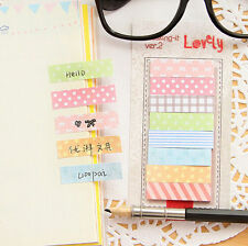 160 Pages Sticker Bookmark Notepad Post Marker It Memo Flags Sticky Notes Book