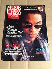 MUSIK EXPRESS SOUNDS 3 MÄRZ 1993 - LENNY KRAVITZ / STING / PHILLIP BOA / TEKKNO