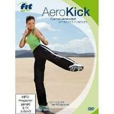 AEROKICK-CARDIO-WORKOUT-FIT FOR FUN DVD FITNESS NEU