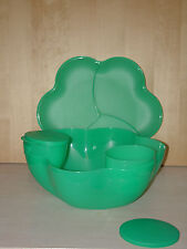 Chip 'N Dip Tupperware Green
