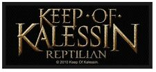 KEEP OF KALESSIN - Aufnäher Patch Reptilian 10x4cm