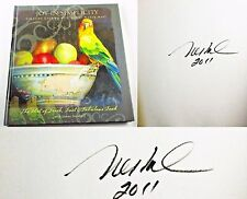 Joy in Simplicity Zionsville Indiana Artist Nancy N.A Noel SIGNED Cookbook